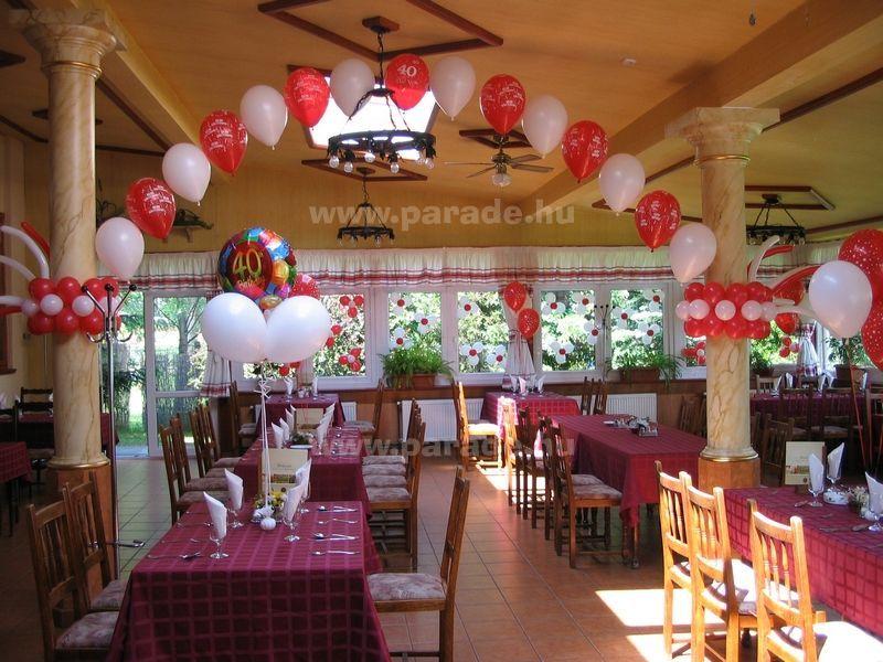 szülinapi diszités Lufi rendelés születésnapra, dekoráció, szülinapi buli díszítés  szülinapi diszités
