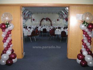 Hélia Hotel - dekoráció esküvőre