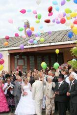 Vidéki esküvői dekoráció